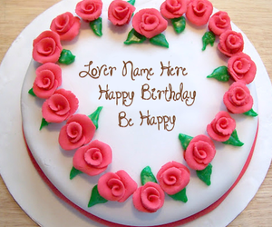 Pink Flower Birthday Cakes And Cake Design Image