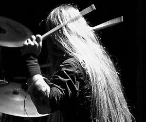 black beauty, drummer, and hair image