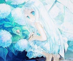 anime, anime girl, and menma image
