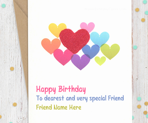 Wishes Birthday Cards And Name Image