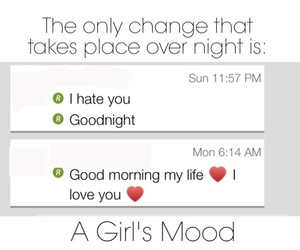 funny, girlfriend, and messages image