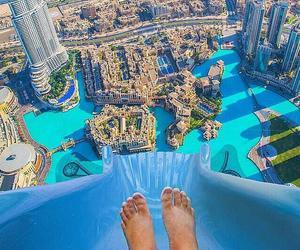 city, summer, and Dubai image