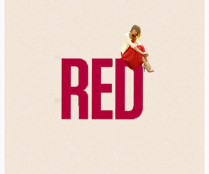 edit, Lyrics, and red image