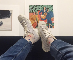 indie, shoes, and art image