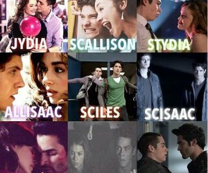 teen wolf, stydia, and scallison image