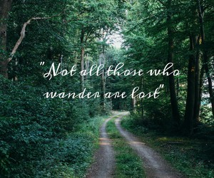 forest, LOTR, and quote image