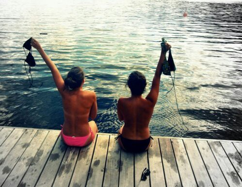 bikini, crazy, and summer image
