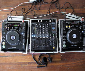 audio, dj, and turntables image