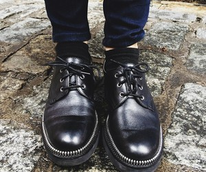 black and shoes image
