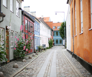 street and Houses image