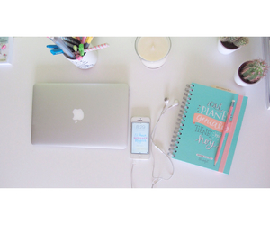 beautiful, desk, and girly image