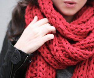 boy, model, and scarf image