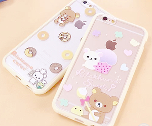 cute, bear, and iphone image