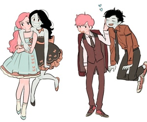 adventure time, marceline, and prince gumball image