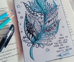 art, beautiful, and book image