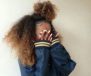 hair, black girl, and fashion image