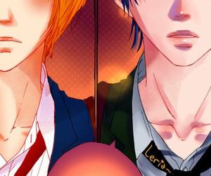 colored, manga, and ren image