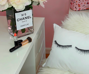 chanel, makeup, and room image