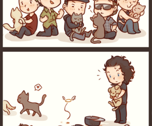 cats, danny, and hollywood undead image