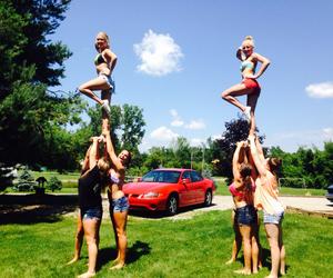 cheer, cheerleader, and libs image