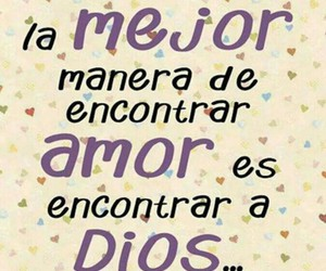 dios, amor, and corazon image