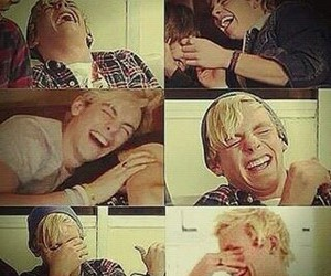laugh, r5, and ross lynch image