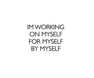 quotes, myself, and motivation image