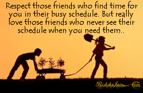 Motivational Quotes About Friendship Adorable Respect Those Friends Who Find Time  Friendship Quotes