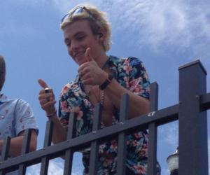 smile, r5, and ross lynch image