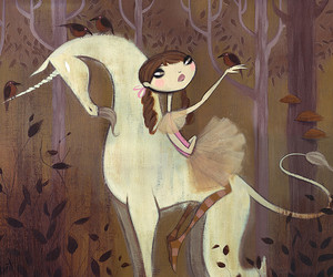 forest and unicorn image