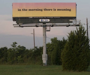 billboard, meaning, and morning image