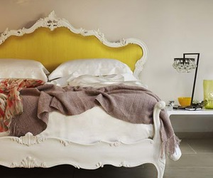 bed and yellow image