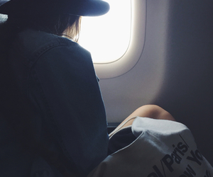 airplane, american apparel, and boston image