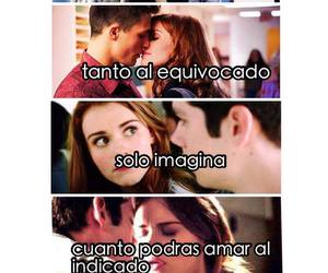 teen wolf, stiles, and frases en español image