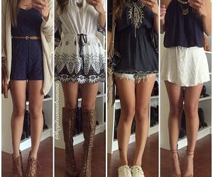 boots, heels, and navy image