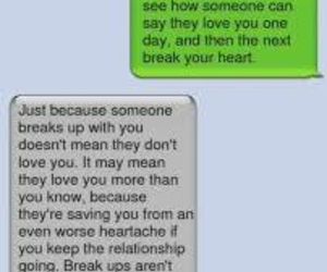 breakup, emotions, and feelings image