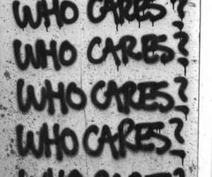 Who, cares, and who cares image