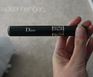 dior, mascara, and makeup image