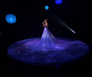 dress, dresses, and galaxy image