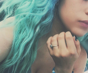 dyed hair, style, and fashion image