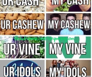 magcon, cash, and cashew image