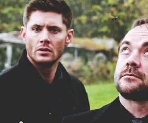 crowley, dean, and spn image