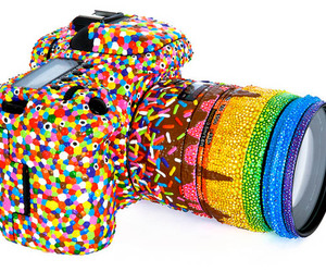 camera, candy, and photo image