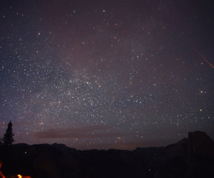 long exposure, night photography, and night sky image