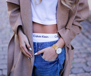 fashion, Calvin Klein, and girl image