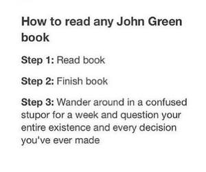 john green, paper towns, and the fault in out stars image