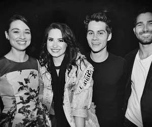 demi lovato, crystal reed, and dylan o'brien image