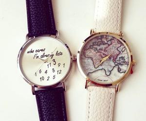 fashion, clock, and watch image