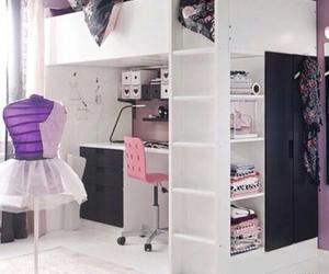 bedroom decoration, interior design, and pink image
