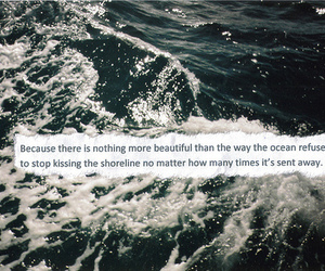 quote, ocean, and beautiful image